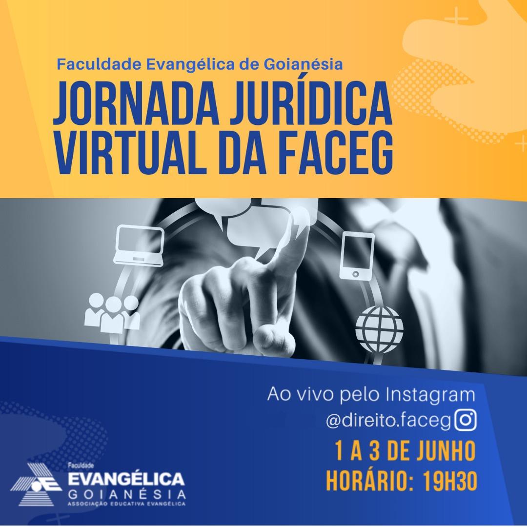 Visualizar v. 3 n. 1 (2020): Anais Jornada Jurídica da Faculdade Evangélica de Goianésia