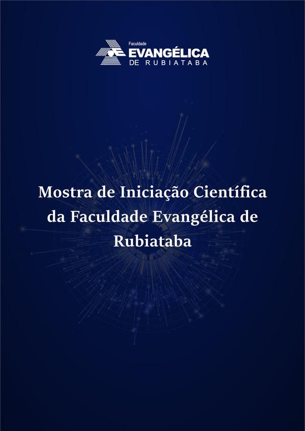 Visualizar v. 16 n. 1 (2020): Mostra de Iniciação Científica da Faculdade Evangélica de Rubiataba